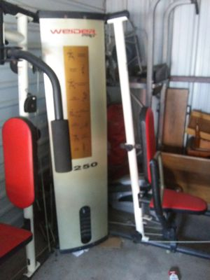 Weider PRO 4250 Bench set for Sale in Ben Wheeler, TX