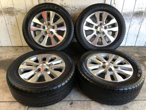 "20"" Toyota Tundra Sequoia Wheels Rims Tires 275/55/20 for Sale in Santa Ana, CA"