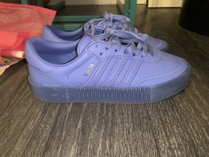 Periwinkle women's Adidas size 7 for Sale in Cranford, NJ