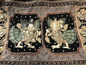 Hindu / India beaded tapestry for Sale in Pittsburgh, PA
