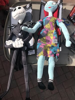 Nightmare before Christmas dolls for Sale in Atherton, CA