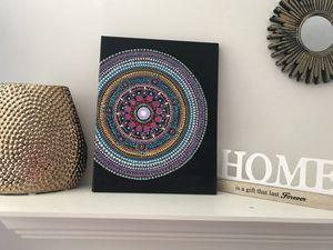 Dot mandala canvas art for Sale in Richmond, VA
