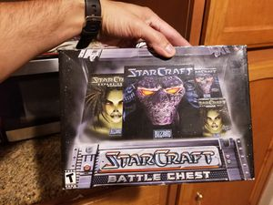 Starcraft PC game and Broodwar Expansion New for Sale in San Jacinto, CA