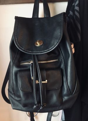 Black leather backpack purse for Sale in Attleboro, MA