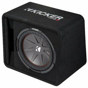 "**brand new** Kicker CompR 12"" subwoofer in ported box for Sale in Wichita, KS"