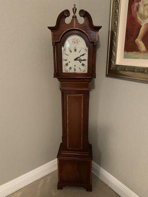 Antique inspired grandmother clock for Sale in Boca Raton, FL