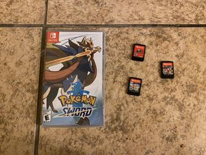 NINTENDO SWITCH AND GAMES for Sale in Moreno Valley, CA