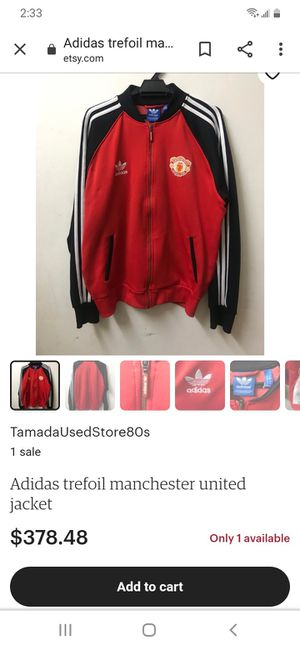 Adidas jacket for Sale in Oakland, CA