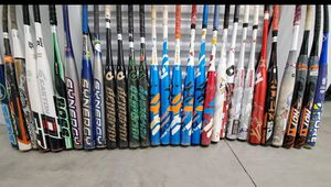 Softball bats bags and gloves for Sale in Roselle, NJ