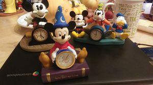Disney Clocks and Figurine for Sale in St. Petersburg, FL