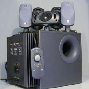 Rare Logitech Z-5300 THX 5.1-Channel Complete Surround Speaker System for Sale in Hayward, CA