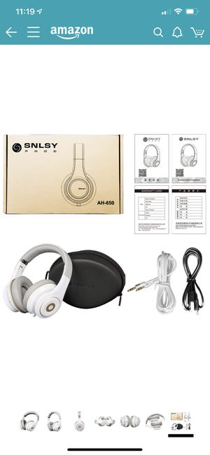 SNLSY Bluetooth headphones over the ears for Sale in Pittsburgh, PA