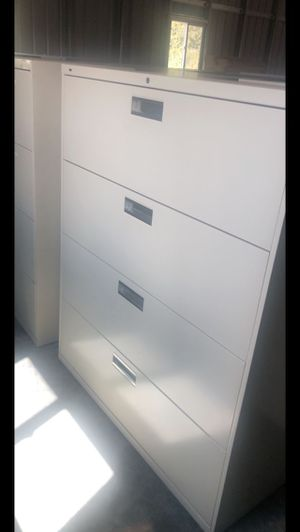 Four draws filing cabinets 42 inch wide for Sale in West Los Angeles, CA