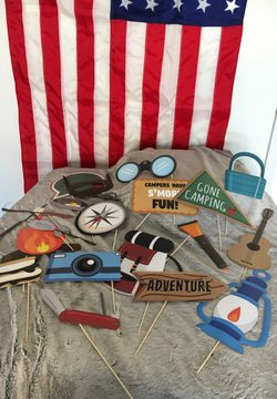 Adventure + Camping Photo Booth Props for Sale in Lake Forest,  CA