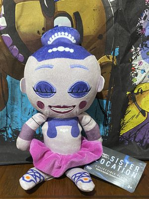 Five Nights at Freddys Funko Ballora Plush FNAF for Sale in Phoenix, AZ