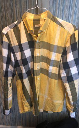 Men's Burberry shirt medium for Sale in Lorton, VA
