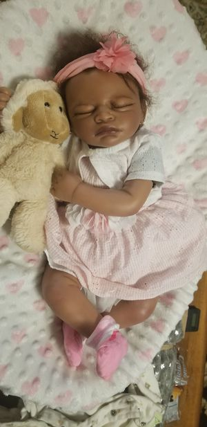 "BIRACIAL Aisha (19"" Reborn Doll Kit) for Sale in DeFuniak Springs, FL"