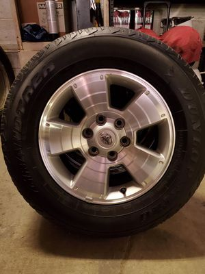 Up for sale set of 4 wheels and tires #265/65R17 for Sale in Fairfax, VA