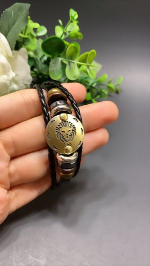 12 Constellations Multilayer Leather Bracelet, Leo for Sale in Tustin, CA