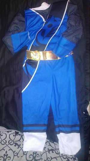 *NO MASK!!* Toddler Size 4t - 6t Blue Power Ranger Costume for Sale in Rialto, CA