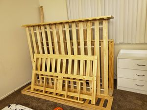 Full over full bunk bed with trundle. for Sale in Vacaville, CA