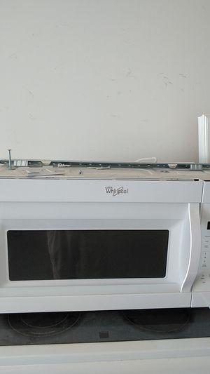 Whirlpool hanging microwave for Sale in Murfreesboro, TN