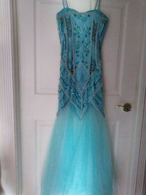 "Beaded full length gown. 36"" chest. for Sale in Lake Worth, FL"