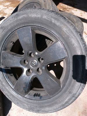 Dodge ram 1500 rims and tires 20inch for Sale in Phoenix, AZ