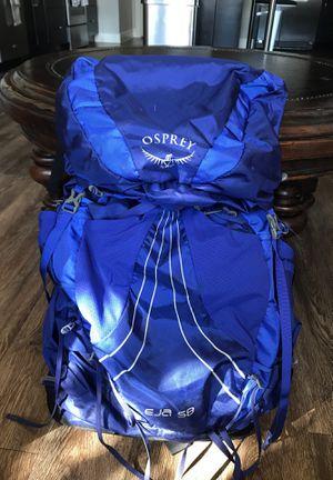 Osprey Eja 58 Backpack for Sale in Austin, TX