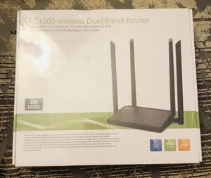 ac1200 wireless dual band router S/N number: WS1601150174 for Sale in Richardson, TX