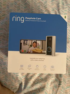 Ring Peephole Cam for Sale in Orlando, FL