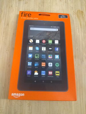 "AMAZON 7"" FIRE TABLET with ALEXA • BRAND NEW IN BOX for Sale in Tukwila, WA"