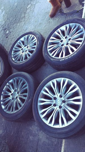 Set of Chrysler 200 Wheels and Tires 18 inch for Sale in Chesapeake, VA