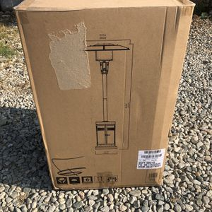 Mainstays Large Outdoor Patio Heater, Powder Coat Brown (Brand new) for Sale in Lawndale, CA