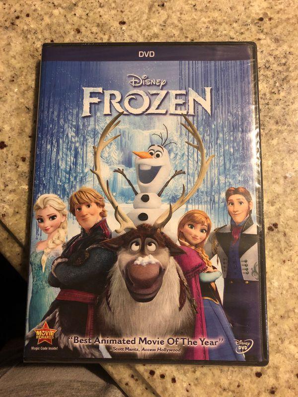 Frozen movie sealed