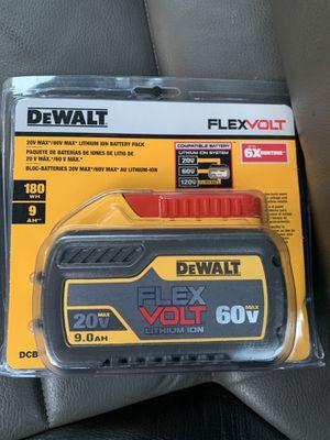DeWalt 9.0 AH Flex Volt battery for Sale in Upper Marlboro, MD