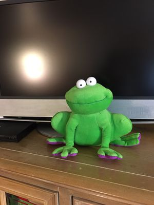 Silly Stuffed Frog 🐸 for Sale in Happy Valley, OR