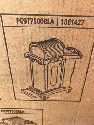 Rubbermaid custodial cart for Sale in Beaverton, OR