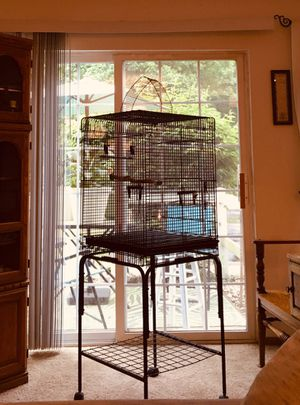 Like new Bird Cage with Stand !! for Sale in Medina, OH