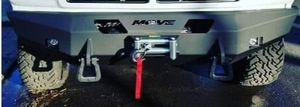 Winch bumpers front and rear with winch and led lights for Sale in Modesto, CA