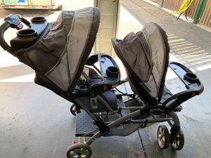 Baby Trend Sit N' Stand Double Stroller for Sale in Phoenix, AZ