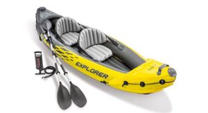 Inflatable 2person Kayak Explorer K2 for Sale in Queens, NY