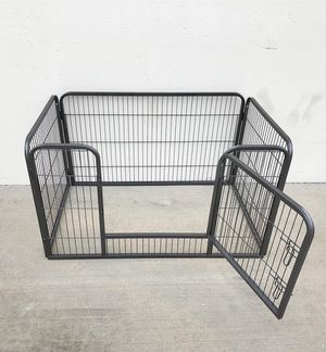 "Brand New $75 Heavy Duty 49""x32""x28"" Pet Playpen Dog Crate Kennel Exercise Cage Fence, 4-Panels for Sale in Montebello, CA"