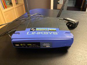 LINKSYS wireless WRT54GL for Sale in Tacoma, WA