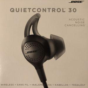 Bose QUIETCONTROL30 wireless for Sale in Greenbelt, MD