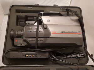 Vintage General Electric GE Camcorder HQ Movie Video System VHS CG-9810 for Sale in Southaven, MS