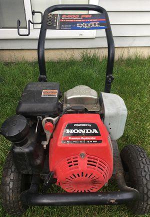 Pressure washer honda 5.0 hp power for Sale in Minooka, IL