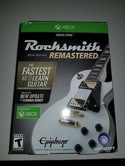 Xbox One Rocksmith Remastered for Sale in Staunton,  VA