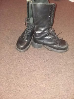 Dr. Martin's Black Knee High Lace-up LEATHER Boots for Sale in Seattle, WA