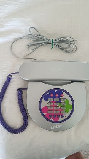 Vintage Barbie Fashion Memory Phone Model BE-818 for Sale in Escondido, CA